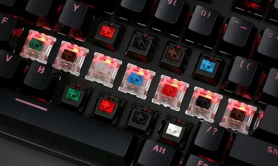 Keyboard switches, polling rate, input lag, etc.