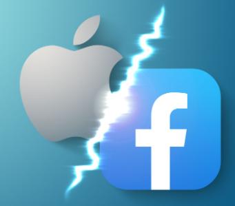 Apple iPhone Datenschutz kampf mit Facebook
